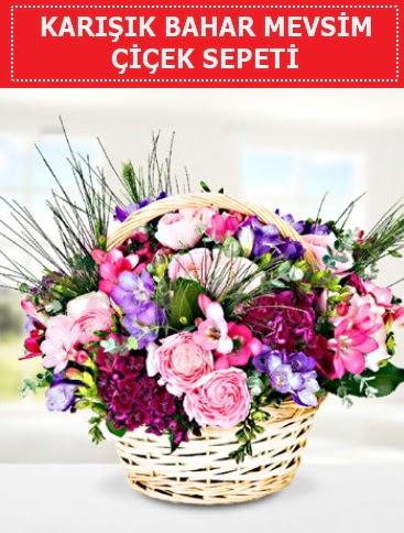 Karışık mevsim bahar çiçekleri  Denizli çiçek mağazası , çiçekçi adresleri