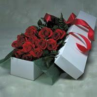 Denizli çiçek yolla  11 adet gülden kutu