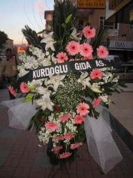 kazablanka,gerbera,sebboy ferforje  Denizli güvenli kaliteli hızlı çiçek
