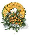 cenaze çiçegi celengi cenaze çelenk çiçek modeli  Denizli uluslararası çiçek gönderme