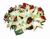 yapay karisik çiçek sepeti   Denizli İnternetten çiçek siparişi