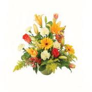 karisik renkli çiçekler tanzim   Denizli uluslararası çiçek gönderme