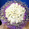 71 adet beyaz gül buketi   Denizli çiçek servisi , çiçekçi adresleri