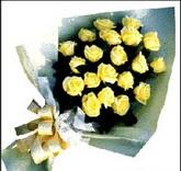 sari güllerden sade buket  Denizli çiçek servisi , çiçekçi adresleri