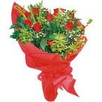 10 adet kirmizi gül buketi  Denizli 14 şubat sevgililer günü çiçek
