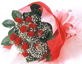 12 adet kirmizi gül buketi  Denizli çiçek gönderme