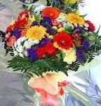 Denizli kaliteli taze ve ucuz çiçekler  karma büyük ve gösterisli mevsim demeti