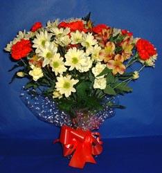 Denizli kaliteli taze ve ucuz çiçekler  kir çiçekleri buketi mevsim demeti halinde