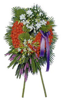 Denizli çiçek gönderme  cenaze çelengi