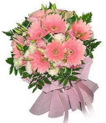 Denizli çiçekçi telefonları  Karisik mevsim çiçeklerinden demet