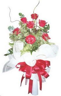 Denizli yurtiçi ve yurtdışı çiçek siparişi  7 adet kirmizi gül buketi
