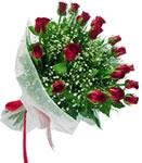 Denizli online çiçekçi , çiçek siparişi  11 adet kirmizi gül buketi sade ve hos sevenler