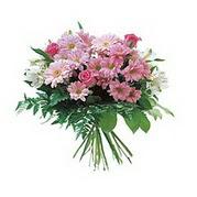 karisik kir çiçek demeti  Denizli çiçek online çiçek siparişi