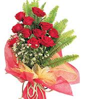 11 adet kaliteli görsel kirmizi gül  Denizli çiçek online çiçek siparişi