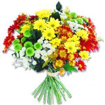 Kir çiçeklerinden buket modeli  Denizli çiçek yolla