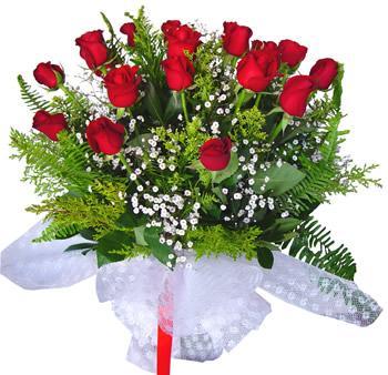 11 adet gösterisli kirmizi gül buketi  Denizli online çiçekçi , çiçek siparişi