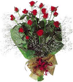 11 adet kirmizi gül buketi özel hediyelik  Denizli güvenli kaliteli hızlı çiçek
