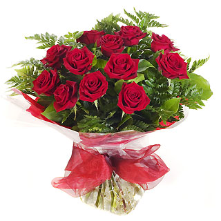 Ucuz Çiçek siparisi 11 kirmizi gül buketi  Denizli çiçekçi mağazası
