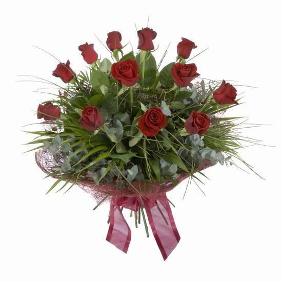 Etkileyici buket 11 adet kirmizi gül buketi  Denizli online çiçekçi , çiçek siparişi