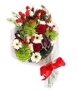 Karisik mevsim buketi çiçek tanzimi  Denizli İnternetten çiçek siparişi