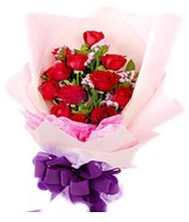 7 gülden kirmizi gül buketi sevenler alsin  Denizli uluslararası çiçek gönderme
