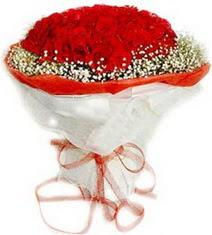 Denizli çiçek yolla , çiçek gönder , çiçekçi   41 adet kirmizi gül buketi
