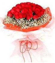 Denizli hediye çiçek yolla  21 adet askin kirmizi gül buketi