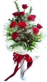 Denizli çiçek mağazası , çiçekçi adresleri  10 adet kirmizi gül buketi demeti