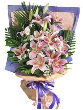 7 dal kazablankadan görsel buket  Denizli çiçekçiler