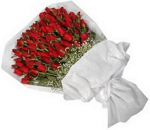 Denizli cicekciler , cicek siparisi  51 adet kırmızı gül buket çiçeği
