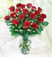Denizli online çiçekçi , çiçek siparişi  9 adet mika yada vazoda kirmizi güller