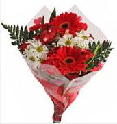 Mevsim çiçeklerinden görsel buket  Denizli çiçek yolla , çiçek gönder , çiçekçi