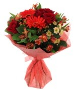 karışık mevsim buketi  Denizli İnternetten çiçek siparişi