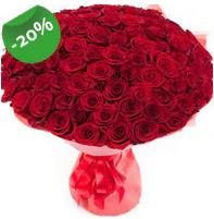 Özel mi Özel buket 101 adet kırmızı gül  Denizli ucuz çiçek gönder