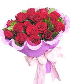 12 adet kırmızı gülden görsel buket  Denizli güvenli kaliteli hızlı çiçek