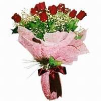 Denizli yurtiçi ve yurtdışı çiçek siparişi  12 adet kirmizi kalite gül