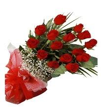 15 kırmızı gül buketi sevgiliye özel  Denizli uluslararası çiçek gönderme
