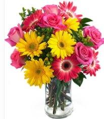 Vazoda Karışık mevsim çiçeği  Denizli güvenli kaliteli hızlı çiçek