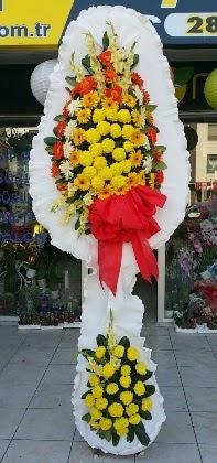 Çift katlı düğün nikah açılış çiçeği  Denizli internetten çiçek siparişi