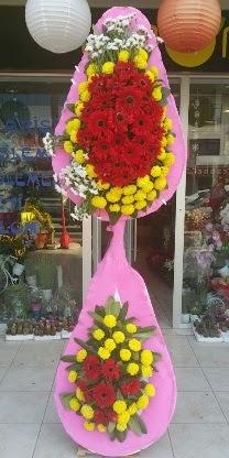 Çift katlı düğün nikah açılış çiçek modeli  Denizli çiçek yolla , çiçek gönder , çiçekçi