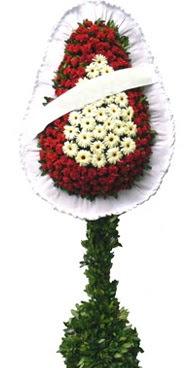 Çift katlı düğün nikah açılış çiçek modeli  Denizli cicekciler , cicek siparisi