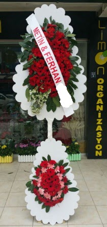 Çift katlı düğün nikah çiçeği modeli  Denizli yurtiçi ve yurtdışı çiçek siparişi