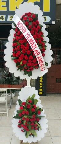 Çift katlı düğün nikah çiçeği modeli  Denizli kaliteli taze ve ucuz çiçekler