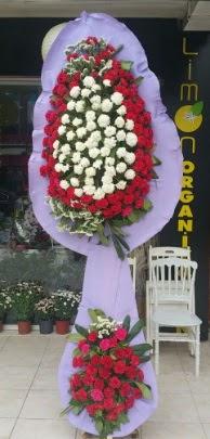 Çift katlı işyeri açılış çiçek modeli  Denizli çiçek mağazası , çiçekçi adresleri