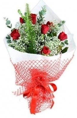7 adet gülden kız arkadaşıma çiçek  Denizli hediye sevgilime hediye çiçek