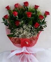 11 adet kırmızı gülden görsel çiçek  Denizli çiçek online çiçek siparişi