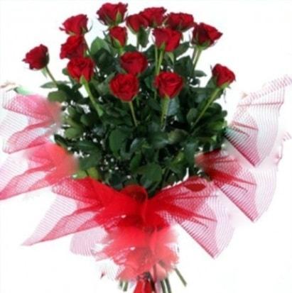 15 adet kırmızı gül buketi  Denizli çiçek gönderme
