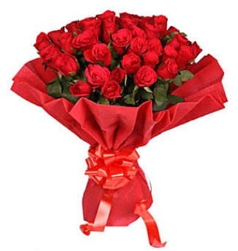 41 adet gülden görsel buket  Denizli çiçek online çiçek siparişi